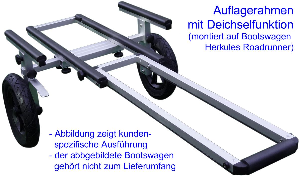 CaroKanu - Bootswagen und Kanuzubehör - Auflagerahmen für Bootswagen ...